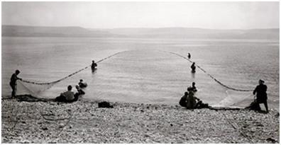 Ловля рыбы рыболовными бреднями