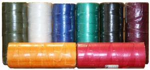 Шнур плетеный Универсал длина 1000 м, на бобине - диаметр 2 мм, желтый