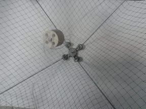 Зонт-Хапуга Универсальная (зима-лето) 1,5х1,5 м, ячея полотна 20 мм, косынок 35 мм.