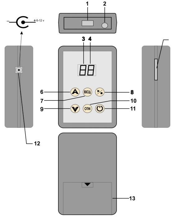 Электрическая схема телевизора электроника-408д.  Схемы приборов биорезонансной терапии.