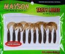 Силиконовая резина MAYSON Stinger Tail, длина 1,5 дюйма (38 мм), цвет - 113, набор - 15 шт.