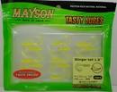 Силиконовая резина MAYSON Stinger Tail, длина 1,5 дюйма (38 мм), цвет - 029, набор - 15 шт.