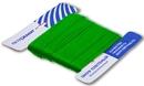 Шнур плетеный Стандарт длина 50м, на карточке, диаметр 1,2 мм, Зеленый