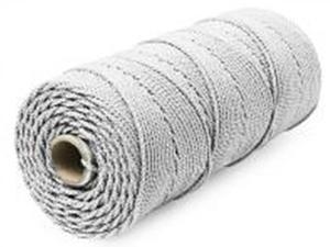 Шнур плетеный Стандарт длина 500м, на бобине, диаметр 1,8 мм, белый