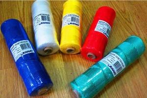 Шнур плетеный Универсал длина 100 м, на бобине - диаметр 2,5 мм, синий