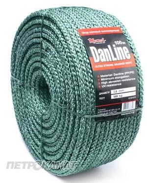 Канат DanLine Петроканат плетеный 500 м, диаметр - 3 мм.