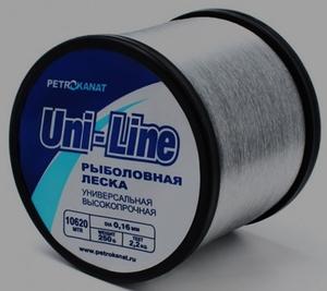 Леска UniLine на бобине  250 гр, 190 м, диаметр 1,20 мм.