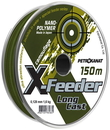 Леска X-Feeder, нанополимер, 0,20 мм, 4,0 кг, 150 м