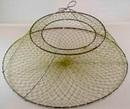 Раколовка раскладушка, 3 кольца, ячея 22 мм, Ø 55 см
