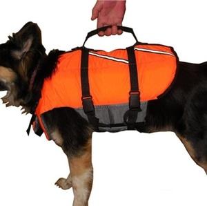 Спасательный жилет для большой собаки, размер L, вес до 20 кг.