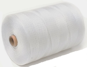 Нить капроновая белая Extra Plus диаметр 0,80 мм, 93,5 tex*3, тест 18 кг, вес 3 кг, длина 9500 м.