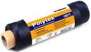 Нить полипропиленовая Polytex PES 210 den/9, диаметр 0,70 мм, 160 м, 100 гр, черная