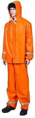 Костюм рыболовный водонепроницвемый РОКОН оранжевый из ПВХ, р. 60-62, рост 170-176 см.