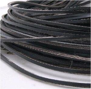 Шнур утяжеляющий (резинотканная транспортерная лента) 4х5 мм, вес 18 г/м - 92 м.