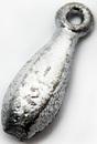 Грузило Торпеда с ушком, 28 гр.