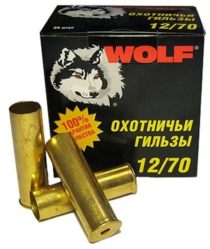 Гильза латунная Tulammo 70 мм, 12 калибр, 25 шт.