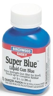 Жидкость для воронения Birchwood Super Blue Liquid Gun, концентрат 90 мл.