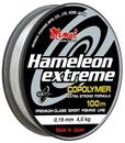 Леска Hameleon Extreme 0,12 мм, 1,7 кг, 100 м, прозрачная