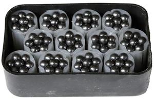 Согласованная картечь 5,9 мм в контейнере 12 калибр, 12 шт.