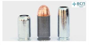 Гильза 366ТКМ никелировнная,25 шт.