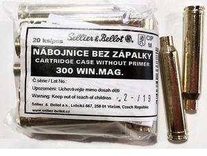 Гильза 308Win Magnum S&B, 20 шт.