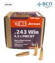 Пуля БПЗ .243 Win FMJ-5.5 оболочечная, латунь, 50 шт.