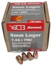 Пуля БПЗ оболочечная биметаллическая FMJ-115 - 7.46 гр, калибра 9 mm Luger, 50 шт.