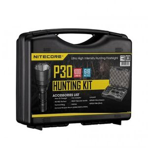 Комплект охотничий в кейсе Nitecore P30 Hunting Kit
