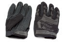 Перчатки тактические Adventure полноразмерные прорезиненные Черные