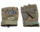 Перчатки тактические укороченные Oval Хаки, размер L, XL, XXL