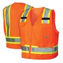 Жилет светоотражающий RVZ2410L, цвет оранжевый, размер L