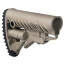 Приклад полимерный Телескопический Fab Defense (Фаб Дефенс) GLR-16, цвет Койот