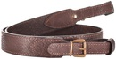 Ремень ХСН ружейный прямой с пряжкой, элита коричневая кожа, ширина 35 мм (арт. 303)