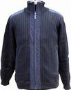 Куртка трикотажная Синия