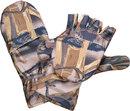 Варежки-перчатки Камыш из виндблока-мембраны