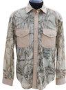 """Рубашка сетчатая """"Таежный стиль"""" длинный рукав сафари"""