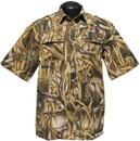 Рубашка с коротким рукавом Камыш