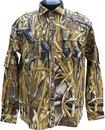 Рубашка рыбака-охотника камыш