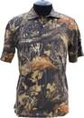 Рубашка ХСН с коротким рукавом, Лес  (арт. 9951-2)