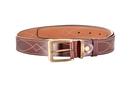 Ремень ХСН брючный 35 см, VIP - коричневый (арт. 3062-1)