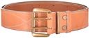 Ремень ХСН брючный 50 мм, люкс - светло-золотая кожа (арт.364-1)