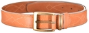 Ремень ХСН брючный 35 см, люкс - светло-золотая кожа (арт. 361-1)
