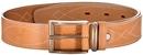 Ремень ХСН брючный 40 мм, люкс - светло-золотая кожа (арт.363-1)