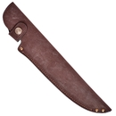 Ножны ХСН европейские, люкс коричневая кожа, длина клинка 17 см. (арт.6255-4)