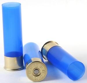 Акция! Гильза пластиковая, длина 70 мм, металлическая юбка 16 мм, под 209 капсюль, калибр 12, 50 шт.
