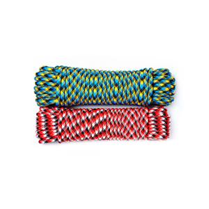 Шнур плетеный АКВА СПОРТ диаметр 10 мм, тест 110 кг, длина 20 м, евромоток