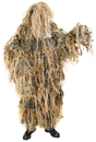 Халат маскировочный Шаман (с маскир.элем-м из натурального лыка) / синт.ткань+лыко