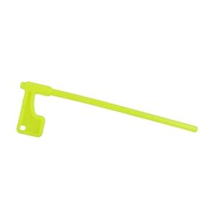 Флажок безопасности для карабинов длинный (кислотно-жёлтый)