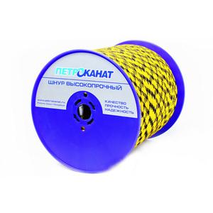 Шнур плетеный ЭКСТРИМ диаметр 8 мм, тест 750 кг, длина 350 м, еврокатушка