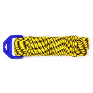 Шнур плетеный ЭКСТРИМ диаметр 8 мм, тест 750 кг, длина 20 м, евромоток